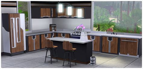 ultra lounge kitchen store the sims 3
