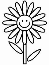Coloring Flower Pages sketch template