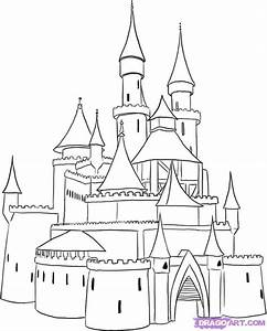 castle drawings step by step - Google Search | Art Lesson ...