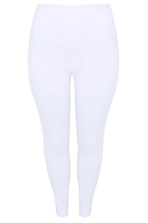 biale legginsy korygujace brzuch  wiskozy  elastanuduze
