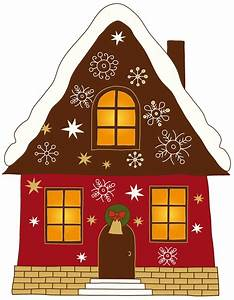 christmas house decorations clip art