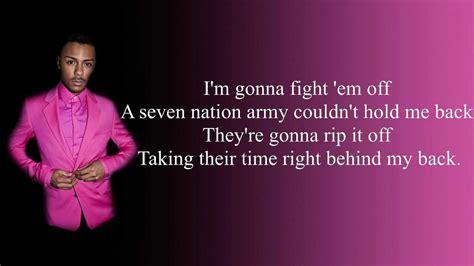 Seven Nation Army Lyrics (hd)