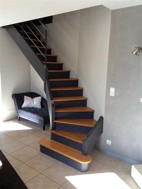 escalier repeint à orvault peintre décorateur homecolor