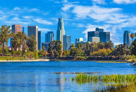 angeles los california skyline cityscape urban downtown southern skyscrapers weather climate cities ppic outdoor summer recommended activities background downloads gettyimages