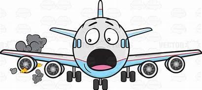 Engine Plane Jet Fire Emoji Clipart Panicking