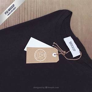 40 free label mockups psd vector With clothing label mockup