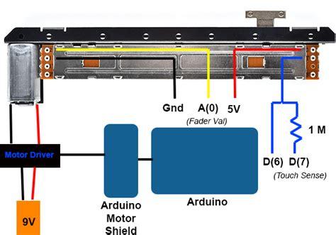 ti motorized potentiometer h bridge l293le hayeon hwang
