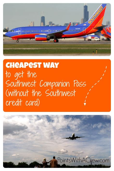 Cheapest Way To Get The Southwest Companion Pass (without