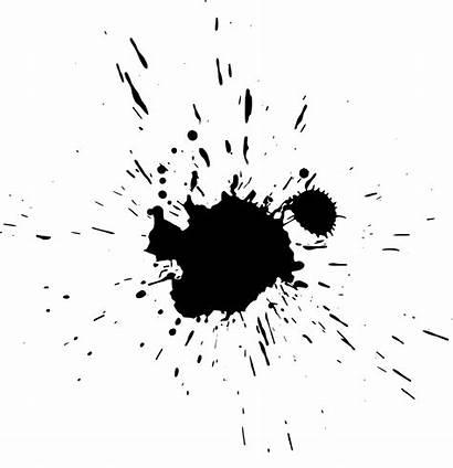Splatter Paint Transparent Background Ink Splat Paintball