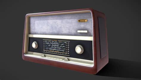 radio 3D Old Radio   CGTrader