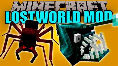 lost world mod hormigas  aranas gigantes minecraft