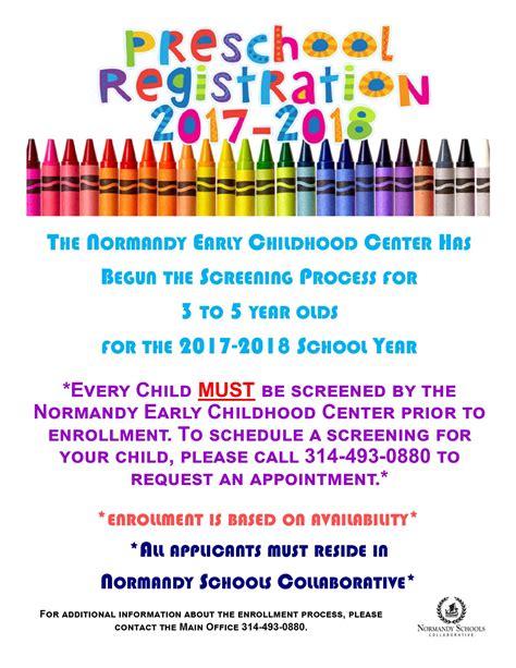 welcome to the normandy schools collaborative website 770   Enrollment Flyer General Public preschool 2 2017