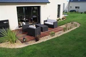 paysagiste terrasse jardin amenager djunails With amenager une terrasse exterieure 4 creation et amenagement de terrasse en bois paysagiste