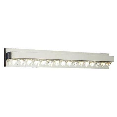 home depot bathroom vanity lights chrome plc lighting 8 light polished chrome bath vanity light
