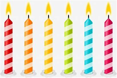 Candles Candle Birthday Clipart Psd