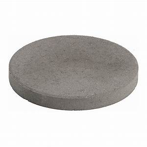 Expocrete 12-in Round Grey Slab Stepping Stone Lowe's Canada