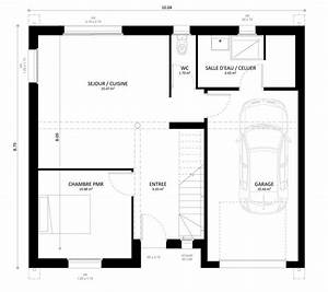 Plan Maison A Etage : plan maison individuelle 4 chambres gaya habitat concept ~ Melissatoandfro.com Idées de Décoration