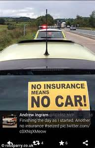 Man wrongly accused of driving without insurance by police ...
