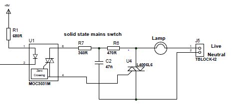 Opto Isolator How Are The Values For Resistances