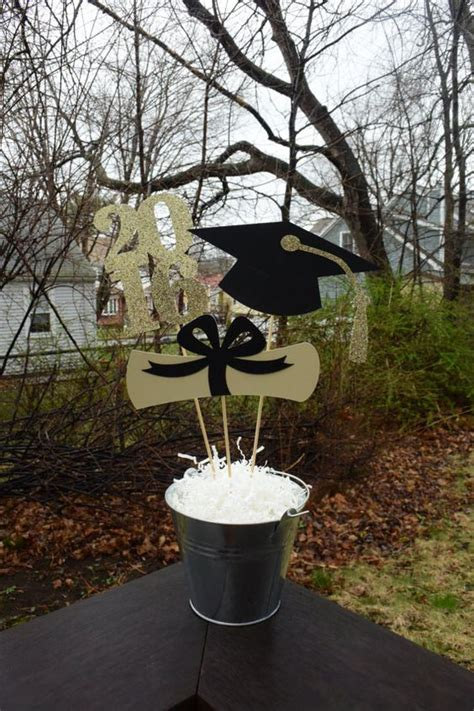 Graduation Decoration Ideas For Tables by 2017 Graduation Table Centerpiece Graduation