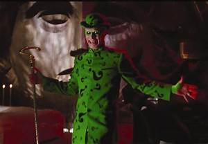 Batman Forever (1995) Jim Carrey Riddler Hat