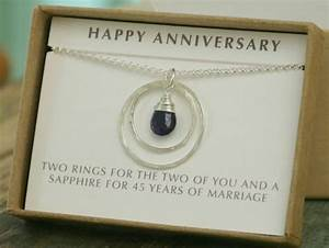 sapphire gift ideas 45th wedding anniversary gift ftempo With 45th wedding anniversary gifts