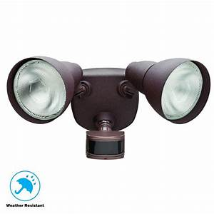 Defiant 270 U00b0 Rust Motion Outdoor Security Light