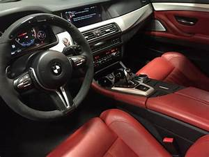 Bmw M5 White With Red Interior