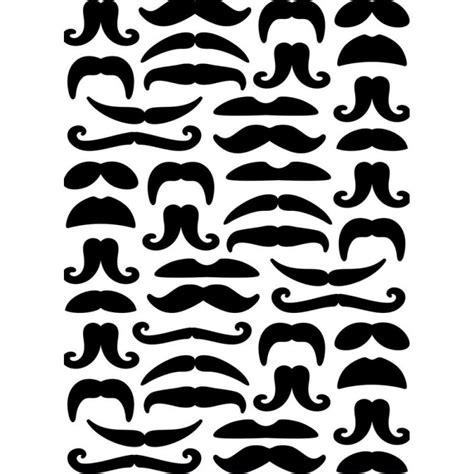 sécurité en cuisine pochoir de gaufrage darice moustaches cartoscrap