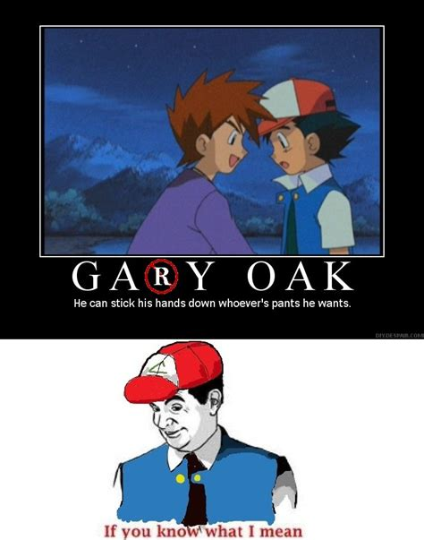 Gay Joke Memes - pokemon gary oak meme images pokemon images