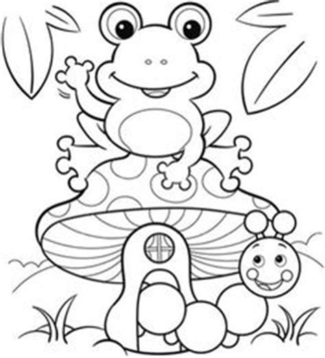 coloring pages frog butterfly and flower with ladybug 840 | 4b47e9c9e5a9ba18683e5e7ea384206c