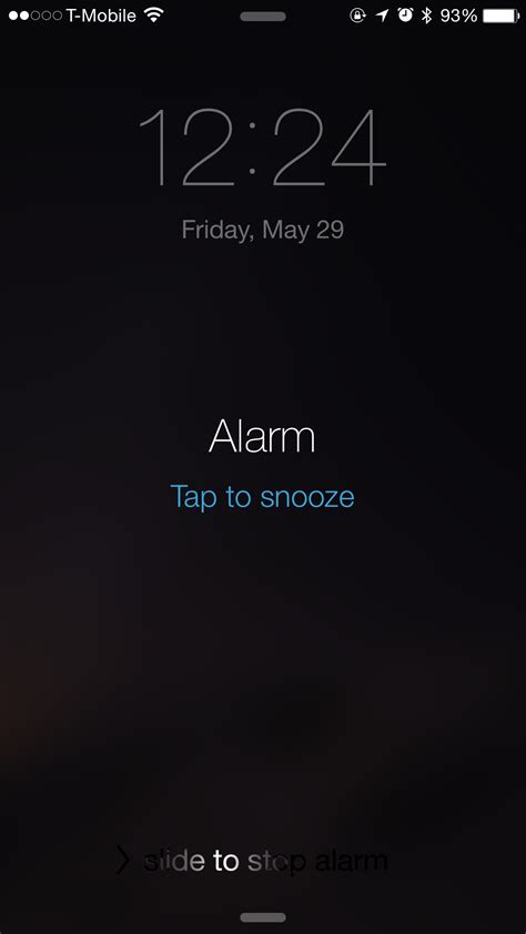 iphone alarm not working how to snooze or dismiss an iphone alarm from apple