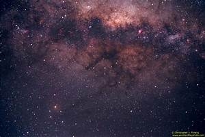 Starry Night Photography - Lagoon Nebula to Antares