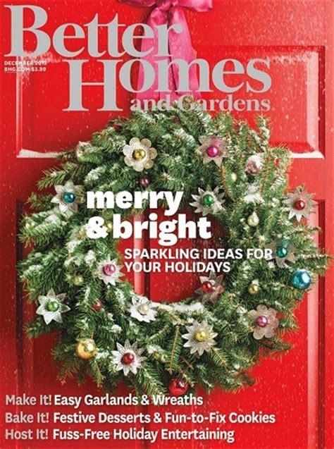 better homes and gardens magazine december 2013 eat