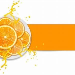 Fresh orange with juice background vector 02 - Vector ...