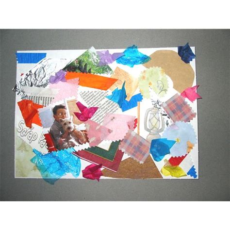 tips ideas  making collages  preschoolers