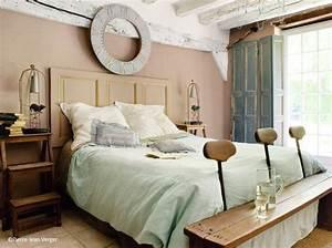 Deco Chambre Bois : 40 id es d co pour la chambre elle d coration ~ Melissatoandfro.com Idées de Décoration