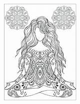 Coloring Chakra Printable Getcolorings Colorings sketch template