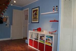 chambre garcon bleu et rouge atlubcom With chambre bleu et rouge