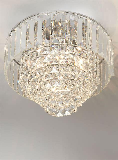 chrome paladina flush ceiling lights lighting