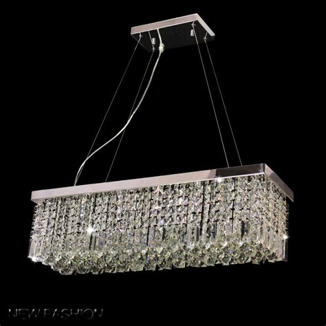 rectangular 5 lights pendant l chandelier