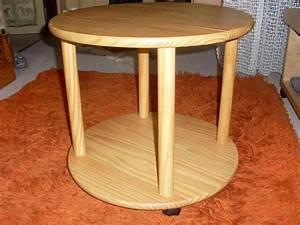 Beistelltisch Holz Rund : beistelltisch holz gebraucht ~ Frokenaadalensverden.com Haus und Dekorationen