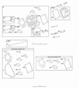 Briggs And Stratton 21m314-0127-f1 Parts Diagram For Cylinder Head  Gasket Set