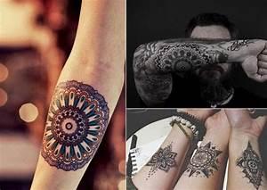 Tatouage Fleur Signification : quelle est la signification du tatouage mandala ~ Melissatoandfro.com Idées de Décoration