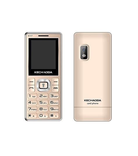 Mobile Mp4 by Mobiles Kechaoda K117 Mobile With Bluetooth Dialer Mp4