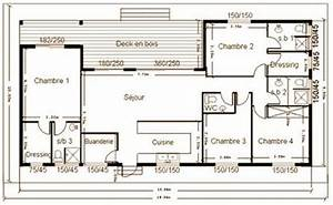 plan de maison construction With plan maison bois gratuit