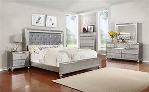 FURNITURE WORLD 6 PCS QUEEN/KING BEDROOM SET