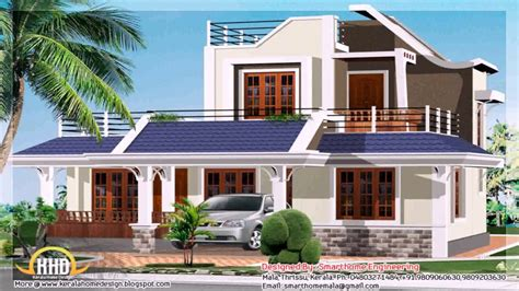 kerala style house elevation design youtube