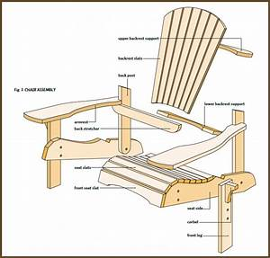 How To Build Simple Adirondack Chair? Simple Adirondack