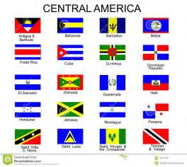 Central America Country Flags